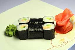 Ваши Суши  Ролл с жареным лососем (6шт)