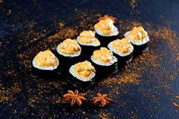 Banzai  Спайс ролл с лососем (4шт)