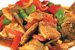 Banzai  Требуха с овощами