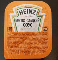 Pizza House  Кисло-сладкий соус 'Heinz'