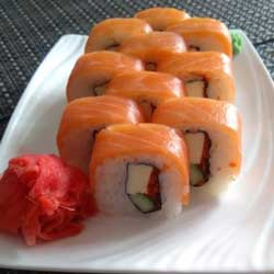Панда Суши  Сливочный лосось