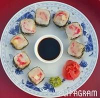 Кафе Леко  Сикуку в темпурном кляре