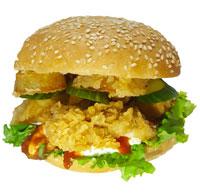 KIM CHICKEN  Чикенбургер (малый)