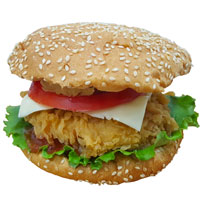 KIM CHICKEN  Чизбургер (малый)