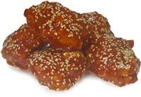 KIM CHICKEN  Кусочки филе в соусе (3 кусочка)
