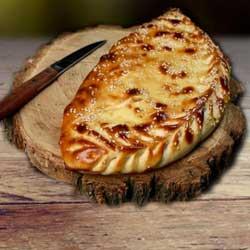 Улыбка  Пицца «Кальцоне» с фаршем и грибами
