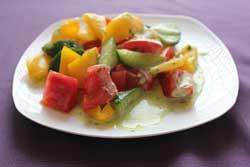 Улыбка  Овощи под соусом Айоли (200г)