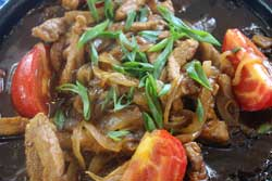 Улыбка  Курица с овощами на жаровне(330г)