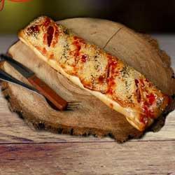 Улыбка  Стромболли с ветчиной и томатами