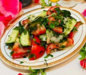 Веснянка  Салат овощной по-грузински